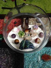 Miniature Minerals Zen Garden
