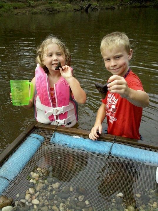 My children taking after their dad