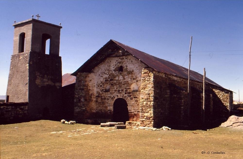 Iglesia San Pedro de Parish Lake Junin Peru PH PO Combelles.jpg
