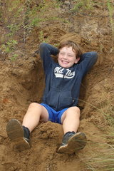 Everybody loves to play in the sand!
