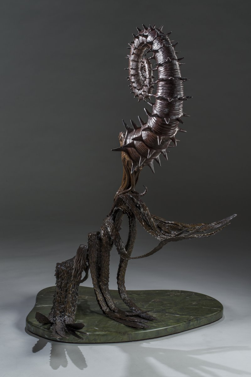 Heteromorph Sculpture Left Rear View