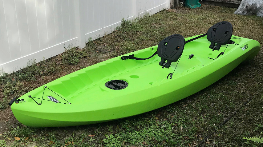 New Tandem Kayak Collecting Gear The Fossil Forum