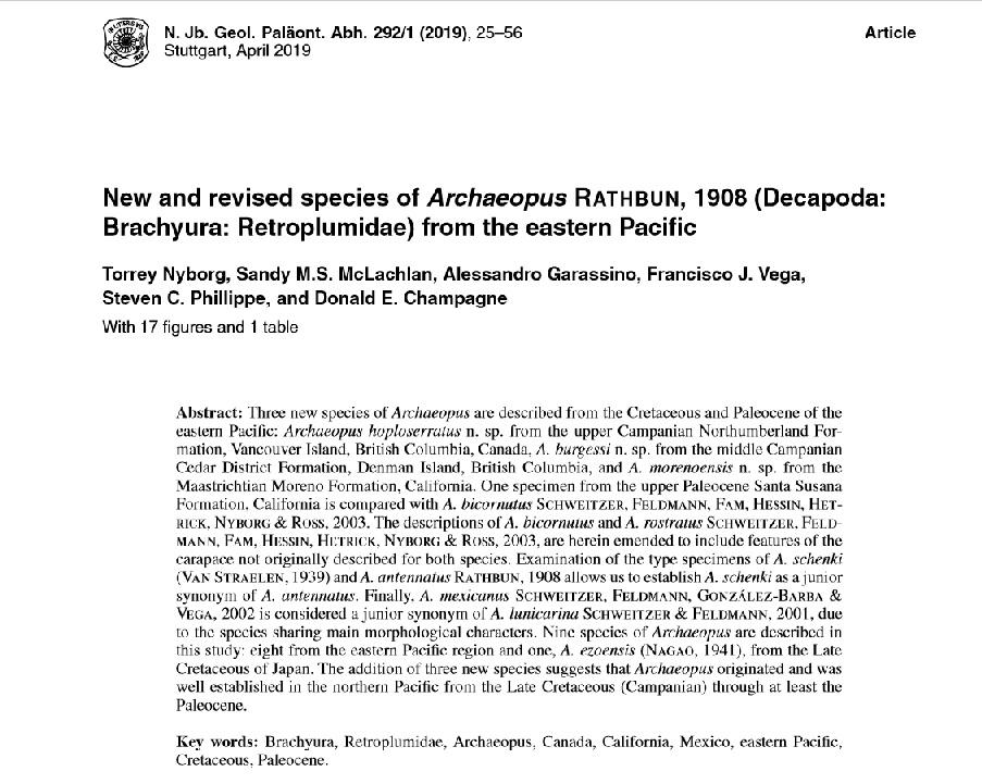 Nyborg et al 2019 Archaeopus pg1.jpg