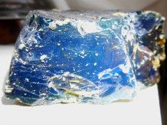 Sumatra Blue Amber (Sinamar Fm., ~30 Ma)