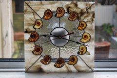 ammonite clock.