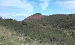 View of 'Castle Rock' cliff.